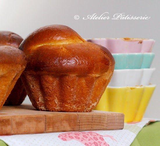 Atelier Patisserie: Maślane brioches