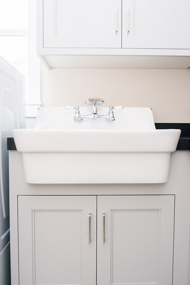 Laundry Room Sink American Standard White Plaster 30 Wall Mounted Porcelain