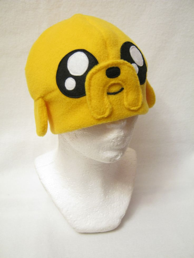 Jake the Dog Hat Adventure Time  Made by Plush Workshop