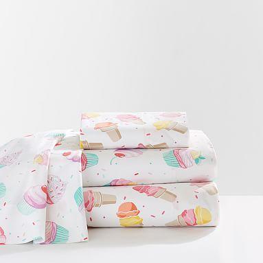 Sweet Treats Pillowcases, Set of 2, Ice Cream