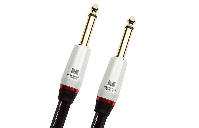 Monster® Studio Pro 2000 Instrument Cable. Our favourite to record guitars in studio.
