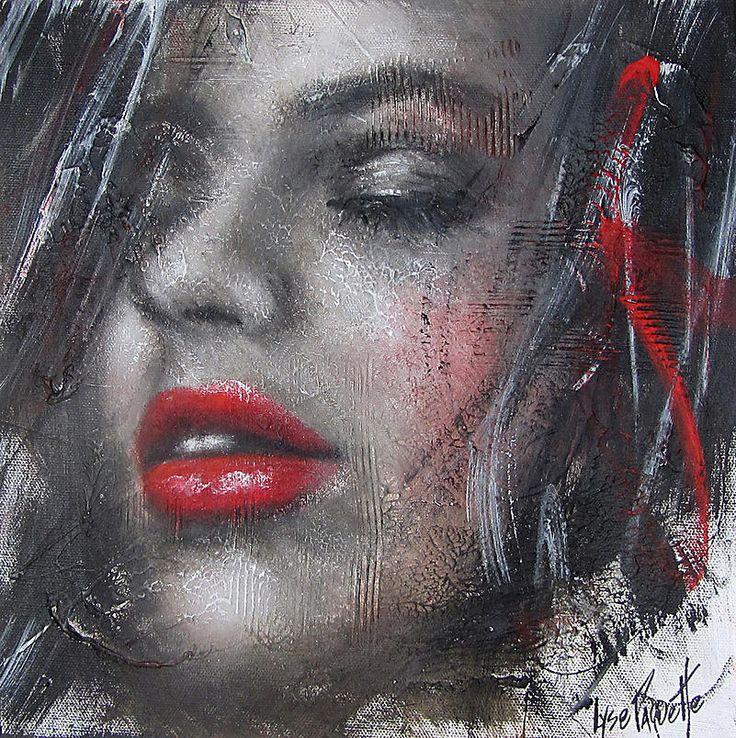Lyse Paquette artiste peintre   VISAGES