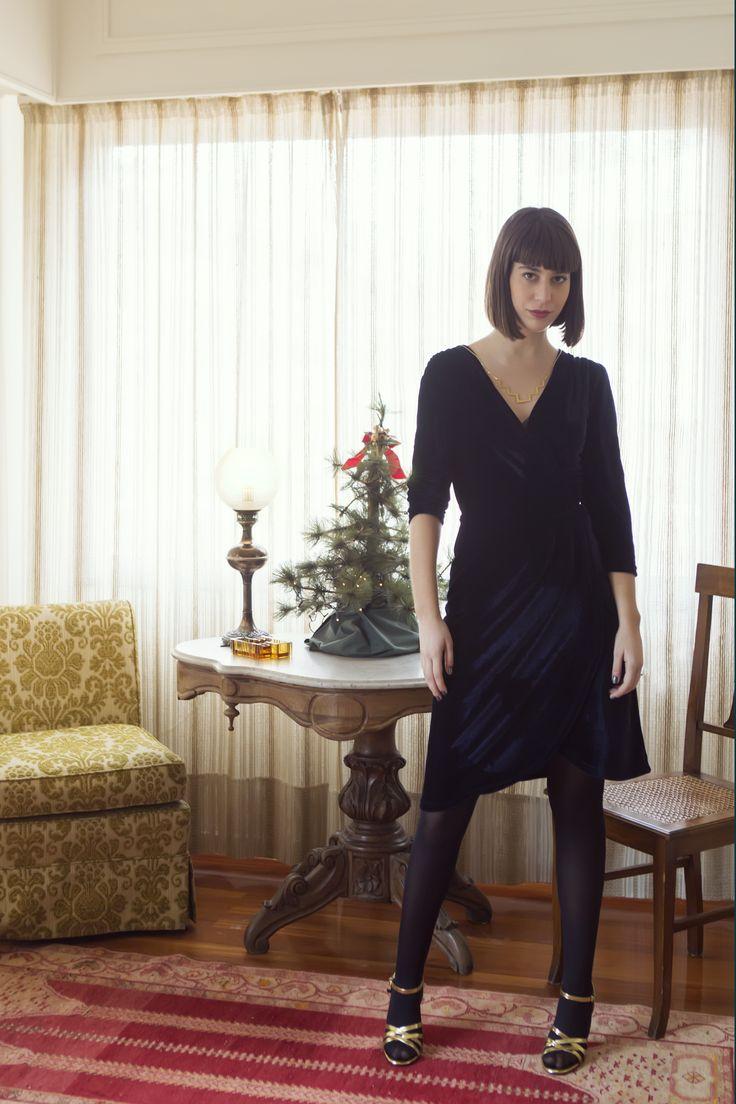 Velvet dress! Ready for NYE!! #mavru #happynewyear #velvetdress #greekfashionblogger #greekdesigners