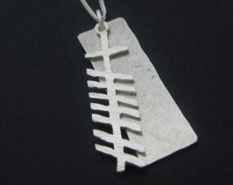 Personalised Ogham Pendant | Celtic Ogham Grá (love) pendant | Handmade in Ireland -    Edit Listing  - Etsy