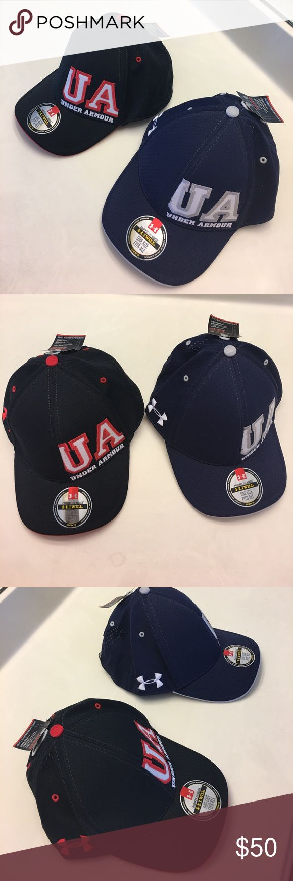 2 Under Armour UA Varsity Cap Gap Get in the game in the Under Armour Men's Adjustable Varsity Cap. The cap is made of 100% polyester that looks like a real jersey, and it has authentic-looking locker tags, tackle twill and numbers and an UAS logo on the front a stylish look. Under Armour Accessories Hats
