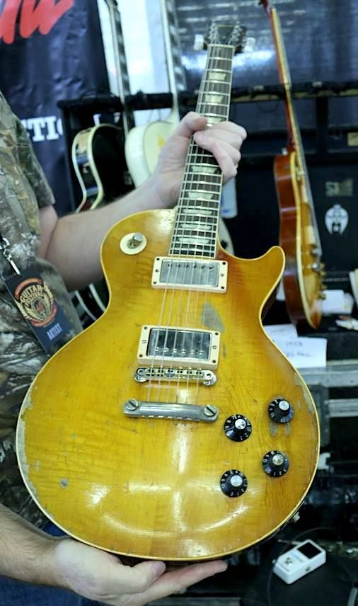 Ted Nugent's 1959 Gibson Les Paul Standard