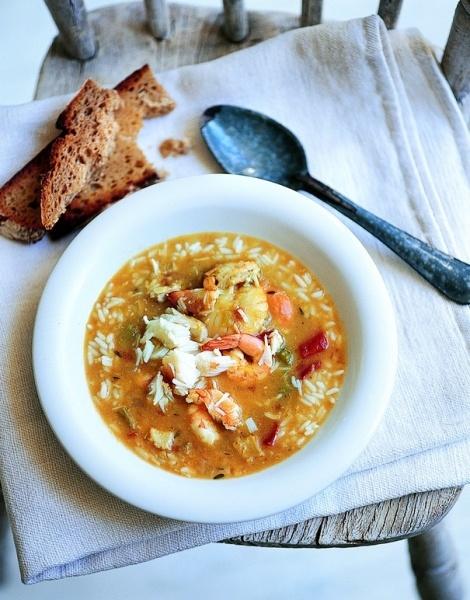 Zuppa di frutta di mare