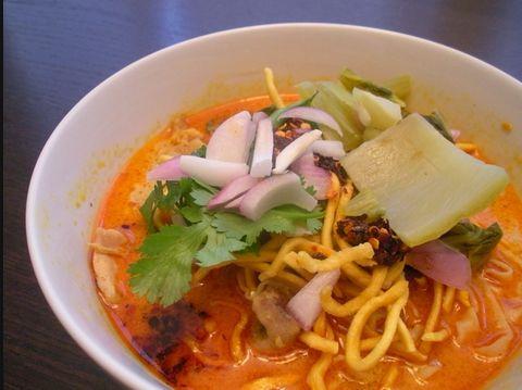 Лапша по-тайски с курицей - рецепт