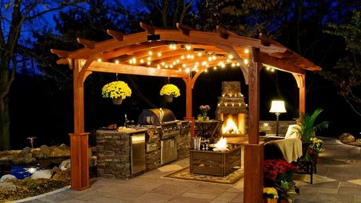 15 + wunderbare DIY Hinterhof Beleuchtung Ideen für kleine Party in der Nacht mit Ihrer Familie