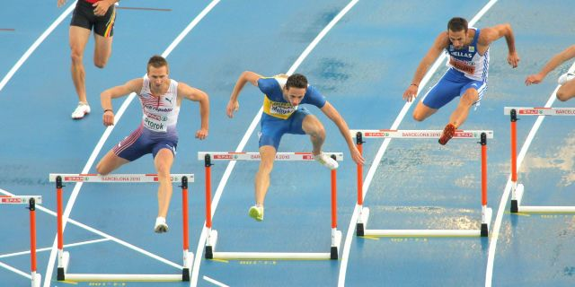 Runners Jumps Obstacles