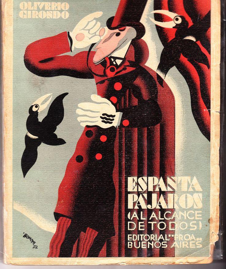 Espantapajaros (Scarecrow) by Oliverio Girondo, signed Bonomi, 1932 (first edition), via Iliazd
