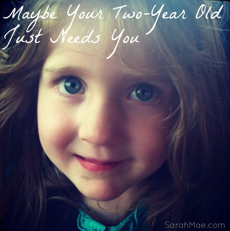 | Maybe Your Two-Year Old Just Needs You |  Yes! sometimes kids don't need anything but some one on one attention! #gentleparenting #parenting #attachmentparenting