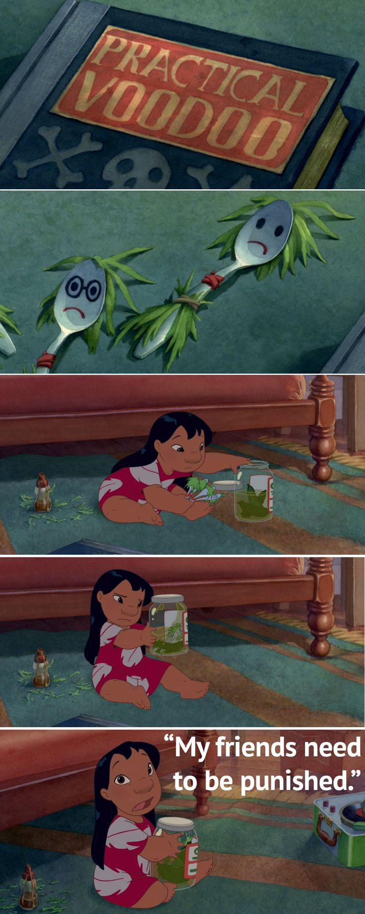 Just watched Lilo and Stitch for the first time and was losing it over Lilo's quotes