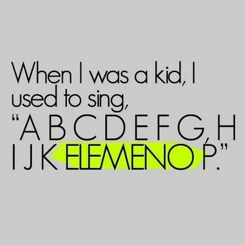 So true. You try to sing it like the other letters...it doesn't work. Lol!!