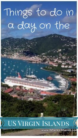 Wondering what you can do with a day in the US Virgin Islands with kids?  Our experiences on St Thomas