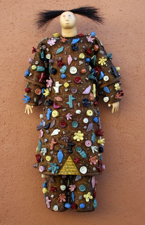 KID GARDEN WITH DIRT by Charla Khanna - I would love to own a collection of her beautiful dolls! Talented lady!