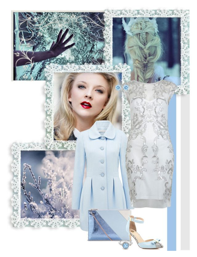 """""""Elsa"""" by srta-sr ❤ liked on Polyvore featuring Laura Ashley, Forever New, Miss Selfridge, Whistles, River Island, London Road and Swarovski"""