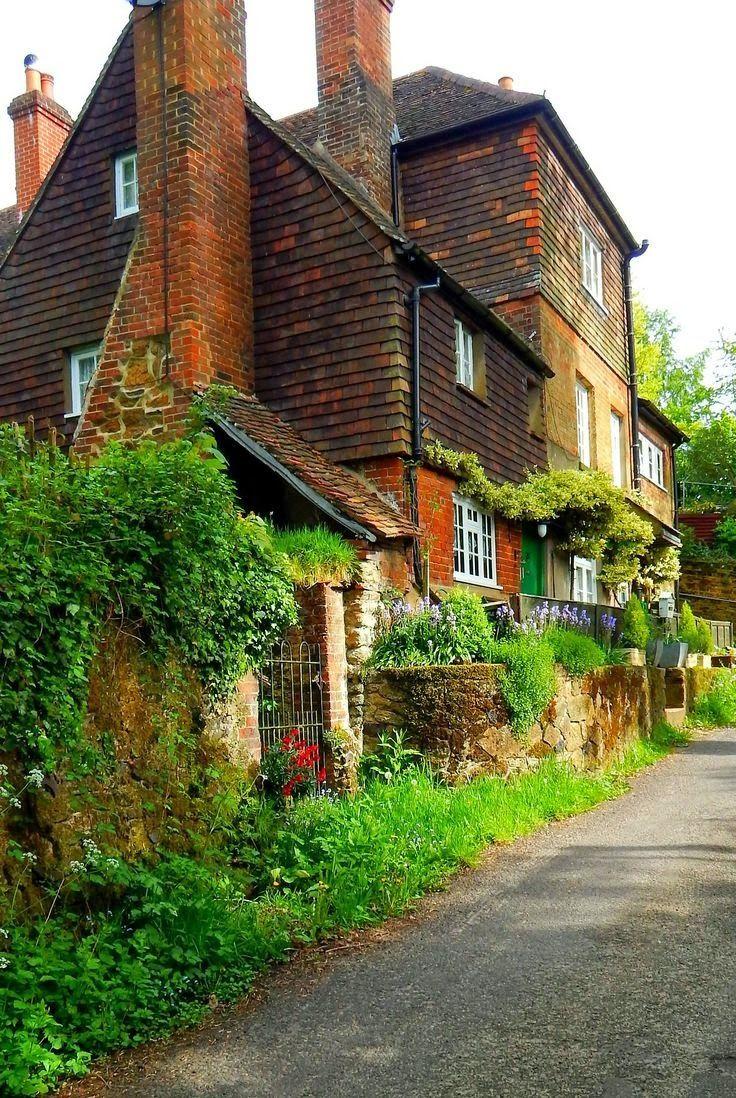 Abinger Hammer, Surrey, England, UK