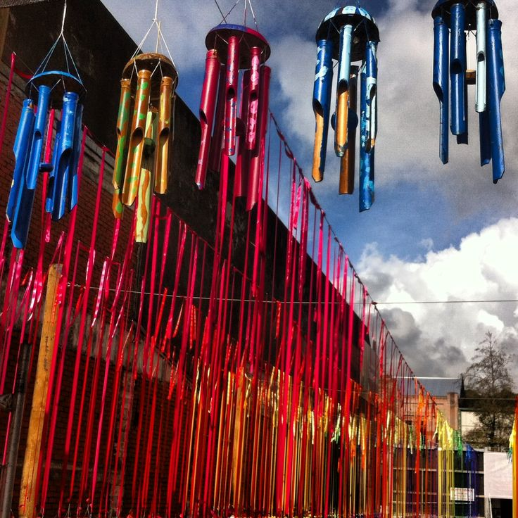 Wind chimes in New Plymouth