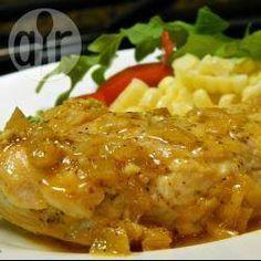 Pechugas de pollo en salsa de naranja @ allrecipes.com.mx