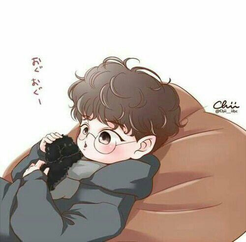 #Chanyeol with Toben fanart
