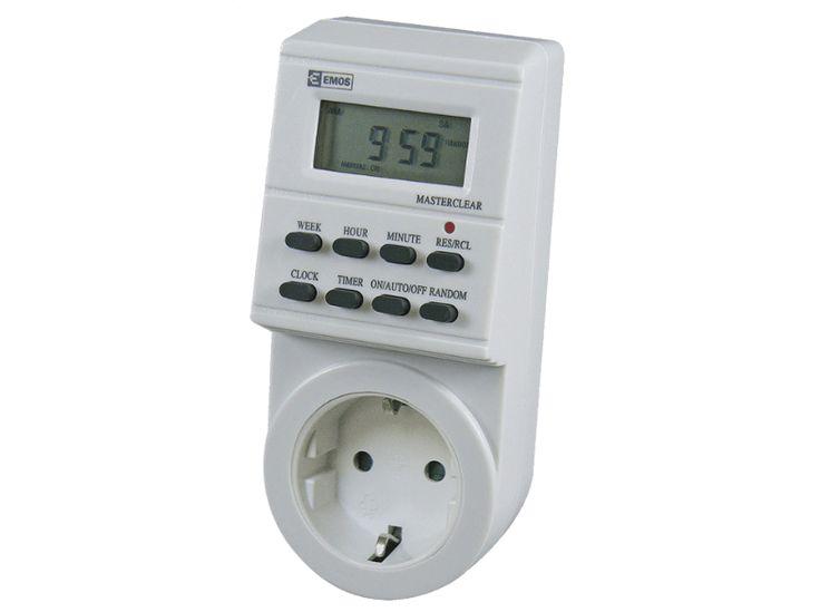 EMOS P5521 EMT707 digitális időkapcsoló konnektor - Media Markt online vásárlás