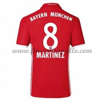 Jalkapallo Pelipaidat Bayern Munich 2016-17 Martinez 8 Kotipaita