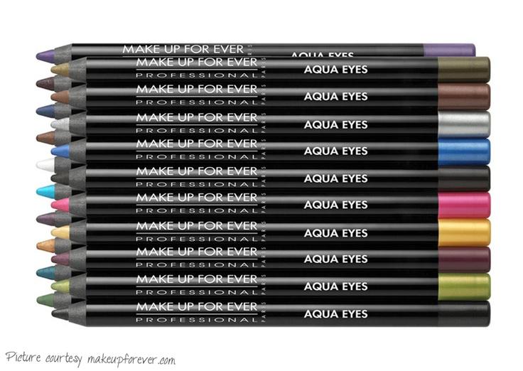Makeup Forever Aqua Eye Liner Review Aqua eyes, Eyeliner