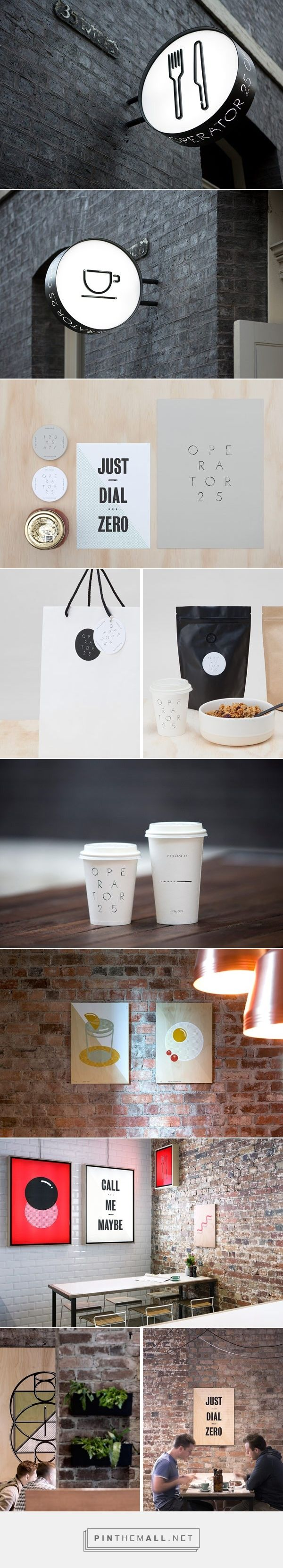 Operator 25 Cafe – Brand Design by Studio Pop & Pac
