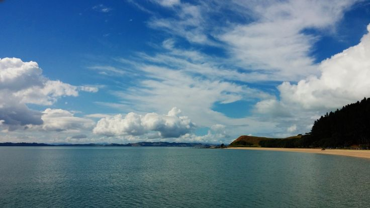A beautiful day at Maraetai Beach, Auckland, New Zealand
