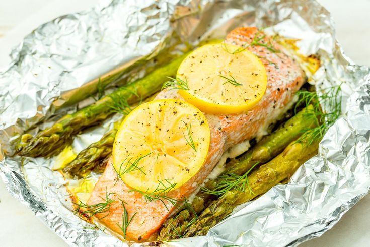Grilled salmon with lime asparagus   – BEST FISH & SEAFOOD recipes in sections- SHRIMP has its own board