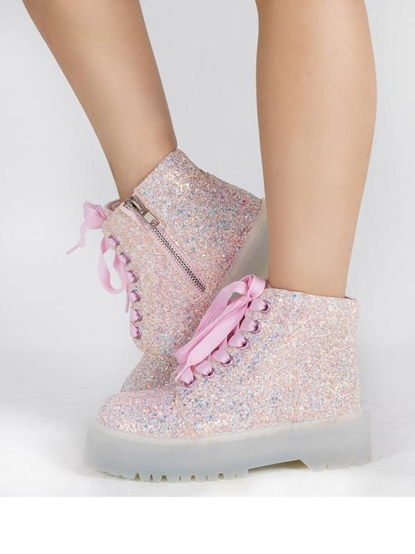 976fef0d023f Slayr glitter - pink   yru nov 2018   Glitter shoes, Pink boots, Glitter  fashion