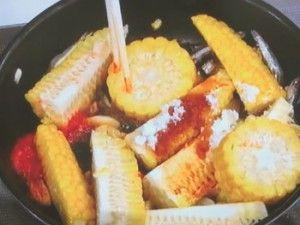 おさらいキッチン   おかずのクッキング「とうもろこしのつまみ」のレシピby土井善晴 7月16日