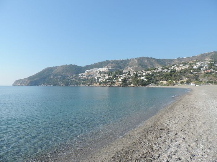 La plage de la Herradura, côté ouest