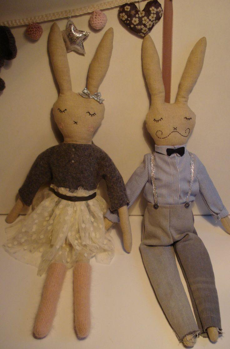 les deux lapins
