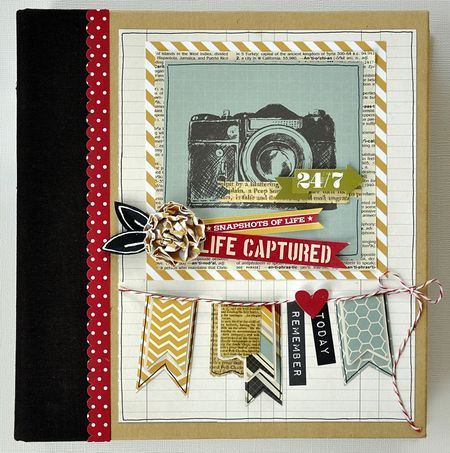 Inspiration by Layle Koncar for our month long blog event Life Documented - Our new die cut Sn@p! pages add so much FUN and dimension to your Life Documented scrapbooking! Layer them in front of or behind your photos or other Sn@p! pages for that cute POP of color your looking for!! http://simplestories.typepad.com/simple_stories/2013/06/life-documented-wtih-24seven.html