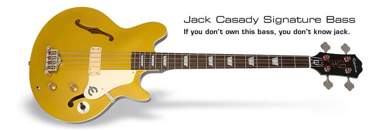 Jack Casady Signature Bass: If you don't own this bass, you don't know Jack