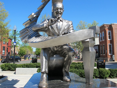 New Duke Ellington statue