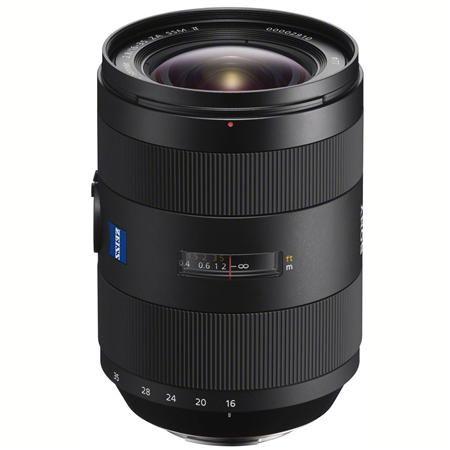 Sony 16-35mm f/2.8 Vario-Sonnar T* ZA SSM II Zeiss Lens, Alpha DSLR Mount