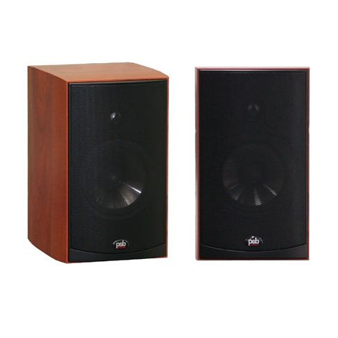 PSB ALPHA Series B1 2-Way Bookshelf Speakers Pair Quality Cherry PC Desktop