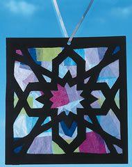 ramadan mosaic suncatcher