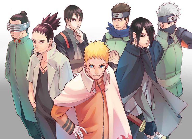 Tags: NARUTO, Uzumaki Naruto, Uchiha Sasuke, Sai, Hatake Kakashi, Nara Shikamaru, Aburame Shino, Sarutobi Konohamaru