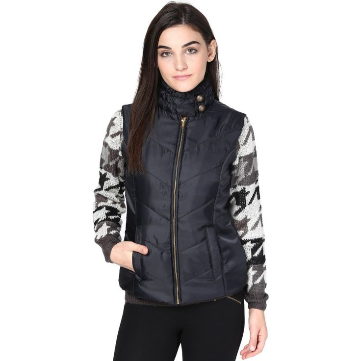 Quilted Puffer Jacket		 http://goo.gl/wdGf7D