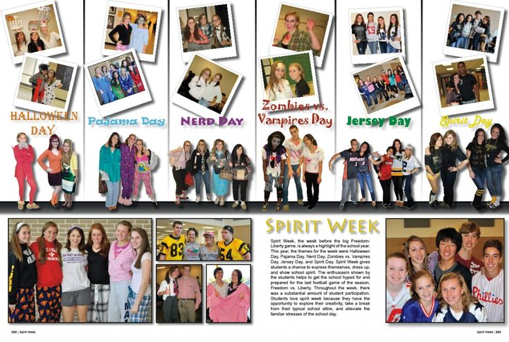 yearbook templates | Stuck In The Middle | Yearbook Filler Pages » Idea Garden Blog