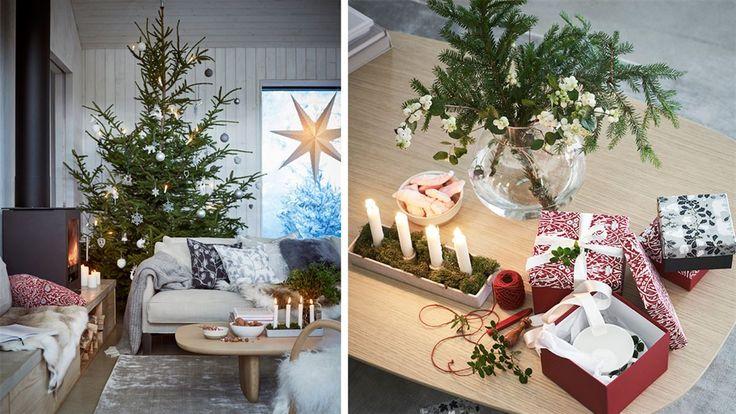Soffbord Åhlens jul 2017