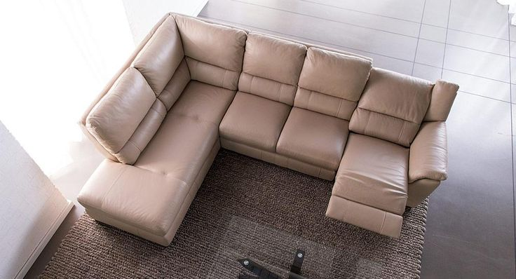 Emery corner modular lounge with reclining options