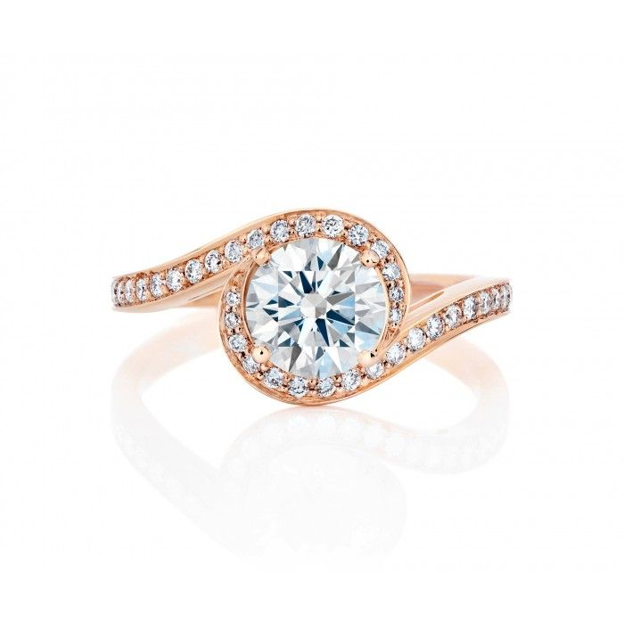 De Beers Caress in Pink Gold