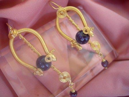 """""""Amethyst earrings"""""""