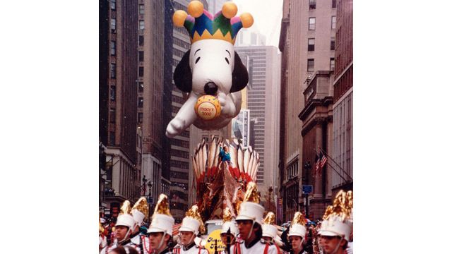 1999 Millennium Snoopy in Macy's Thanksgiving Parade