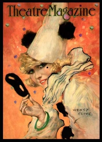 Theatre Magazine (1920's) Pierrot by Henry Clive